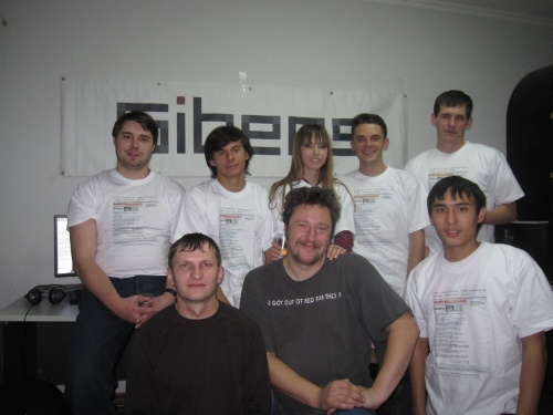 Команда Сайберс в Бишкеке