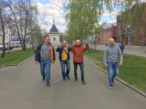 Сайберчане в Барнауле
